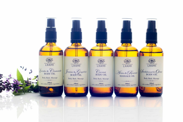 Body Oil range