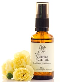 CALMING FACE OIL WITH ROSEHIP & FRANKINCENSE